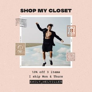 ✨ SHOP MY CLOSET ✨